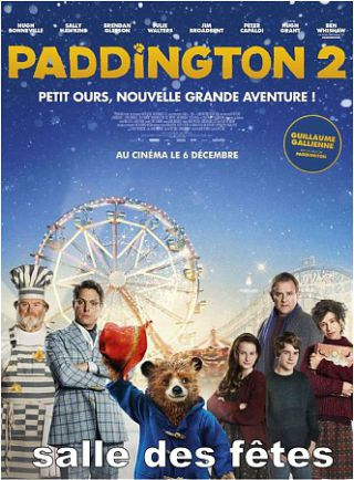 """PADDINGTON 2"" LE VENDREDI 23 MARS"